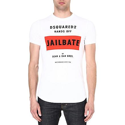 D SQUARED Jailbate t-shirt (White