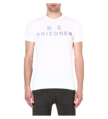 D SQUARED Prisoner t-shirt (White