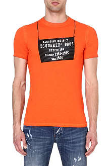 D SQUARED Detention Centre t-shirt