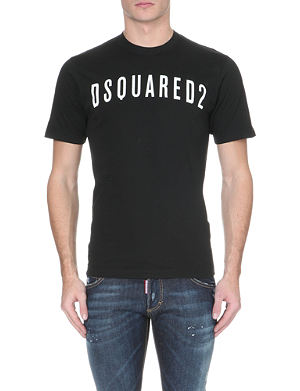 D SQUARED Logo cotton t-shirt