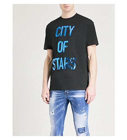 DSQUARED2 City of Stars jersey T-shirt (Black