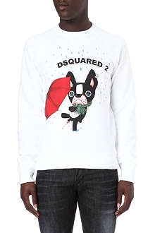 D SQUARED Dog sweatshirt
