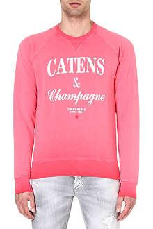 D SQUARED Champagne sweatshirt