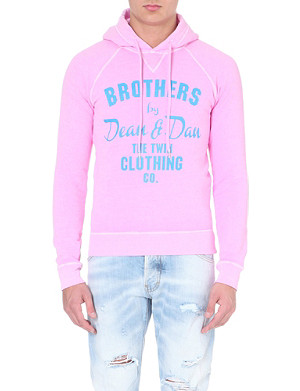 D SQUARED Brothers jersey hoody
