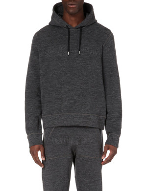 D SQUARED Embossed knitted hoody
