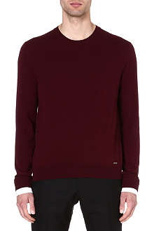 D SQUARED Shirt-cuff knitted jumper