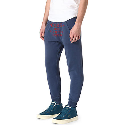 D SQUARED Wild n Tuff jogging bottoms (Blue