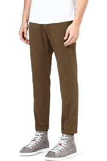 D SQUARED Slim-fit tapered chinos