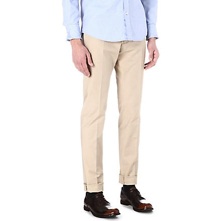 D SQUARED Cool Guy turn-up chinos (Beige