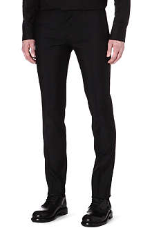 D SQUARED Slim-fit wool and silk-blend trousers
