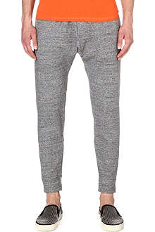 D SQUARED Cropped drop-crotch jogging bottoms