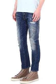 D SQUARED Biker slim-fit straight jeans
