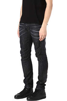 D SQUARED Slim-fit tapered jeans