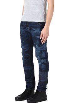 D SQUARED Kenny camouflage slim-fit tapered jeans