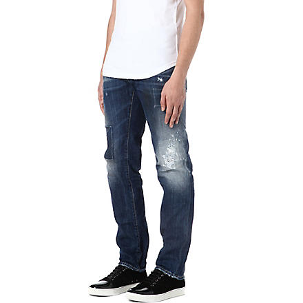 D SQUARED Dean regular-fit straight jeans (Blue
