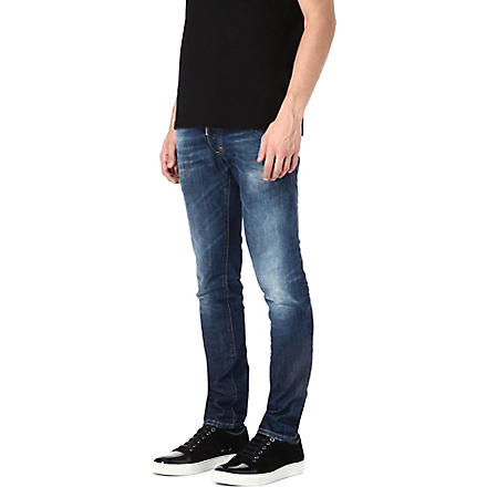 D SQUARED Clement slim-fit tapered jeans (Blue
