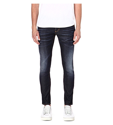 D SQUARED Clement slim-fit straight jeans (Indigo