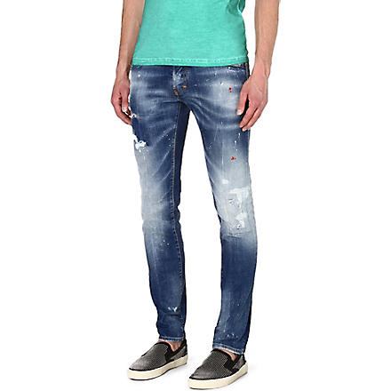 D SQUARED Cool Guy slim-fit tapered jeans (Blue
