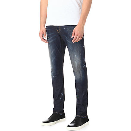 D SQUARED Kenny regular-fit tapered jeans (Indigo