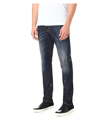 D SQUARED Kenny regular-fit tapered jeans (Indigo