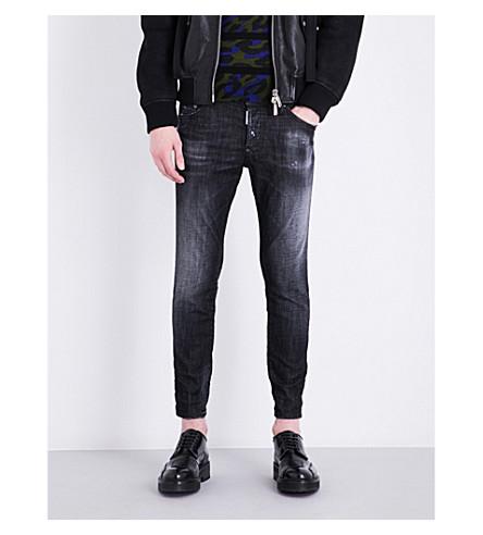 DSQUARED2 Skater Knee regular-fit skinny jeans (Black