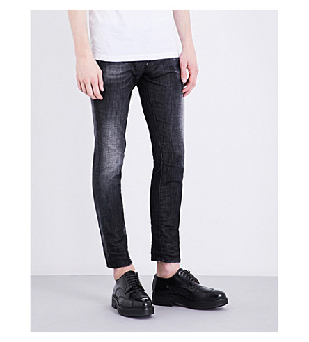 DSQUARED2 Clement slim-fit skinny jeans (Black