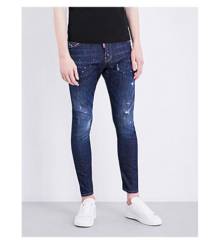 DSQUARED2 Sexy Twist slim-fit skinny jeans (Blue