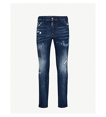DSQUARED2 Cool Guy slim-fit skinny jeans (Navy