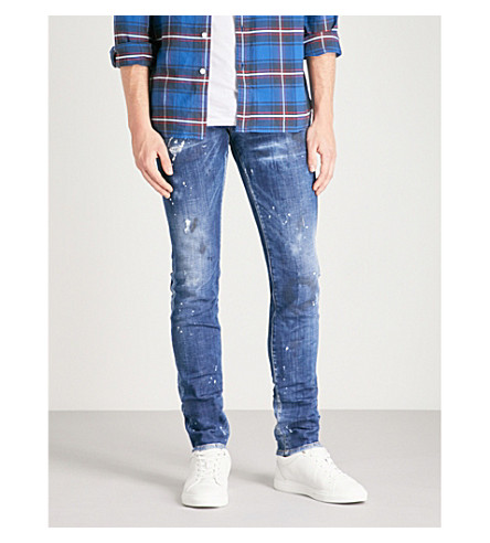 DSQUARED2 Slim Dream slim-fit skinny jeans (Blue