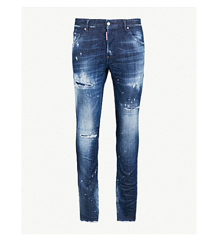 DSQUARED2 Cool Guy slim-fit skinny stretch-denim jeans (Blue
