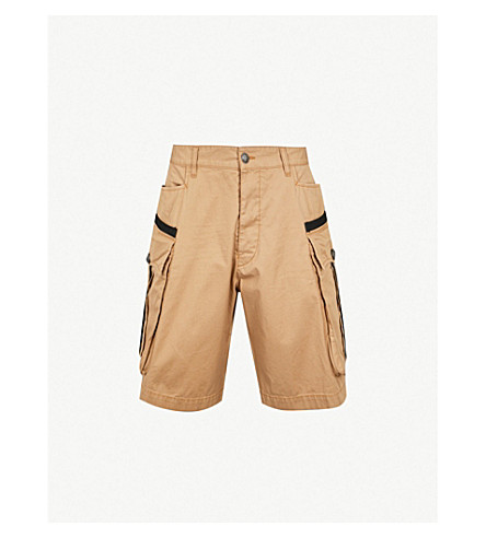 DSQUARED2 Cotton-twill cargo shorts (Kaky