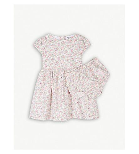 RALPH LAUREN Floral cotton dress and knickers set 3-24 months (Cecile+floral