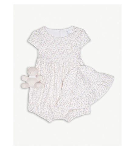 RALPH LAUREN Ruffle baby gift set 3-12 months (Delicate+pink