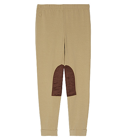 RALPH LAUREN Ginnie jodhpur leggings 2-6 years (Burmese+tan