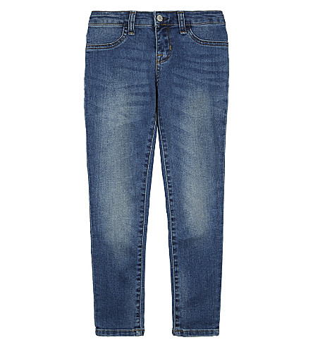 RALPH LAUREN Aubrie stone wash jeggings 2-6 years (Aimee+wash