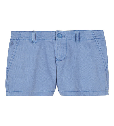 RALPH LAUREN Cotton chino shorts 2-6 years (French+blue