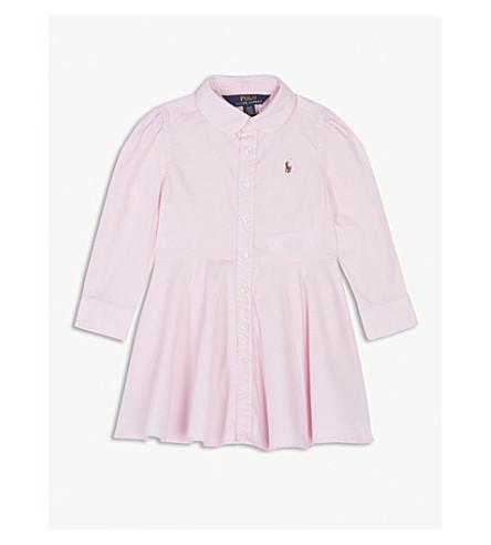 RALPH LAUREN Oxford cotton shirt dress 2-4 years (Pink