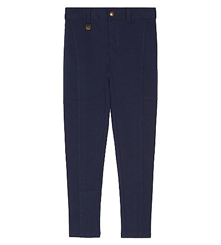 RALPH LAUREN Cotton-blend ponte leggings 2-6 years (Newport+navy