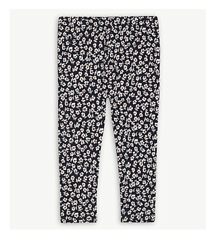 RALPH LAUREN Floral print cotton-blend leggings 2-4 years (Navyred