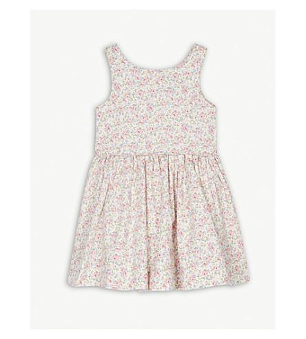 RALPH LAUREN Floral print cotton sleeveless dress 2-4 years (Floral
