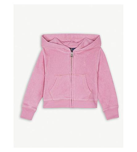 RALPH LAUREN Cotton towel hoody 2-4 years (Hammond+pink