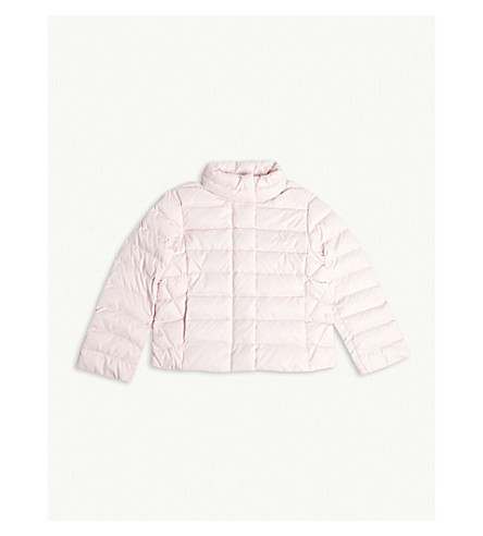 RALPH LAUREN Pony quilted down jacket 2-4 years (Hint+of+pink