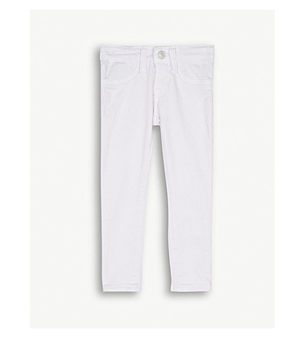 RALPH LAUREN Stretchy skinny jeans 2-4 years (White