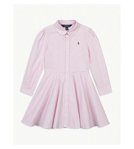 RALPH LAUREN Oxford cotton shirt dress 5-6 years (Pink