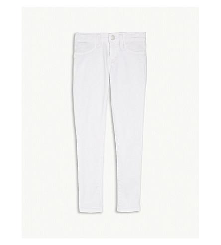RALPH LAUREN Denim skinny jeans 5-6 years (White