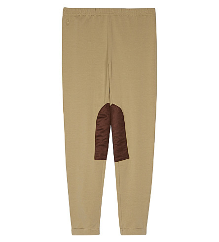 RALPH LAUREN Ginnie jodhpur leggings S-XL (Burmese+tan