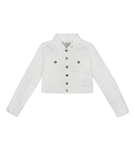 RALPH LAUREN Cropped denim jacket 7-16 years (Lori+wash