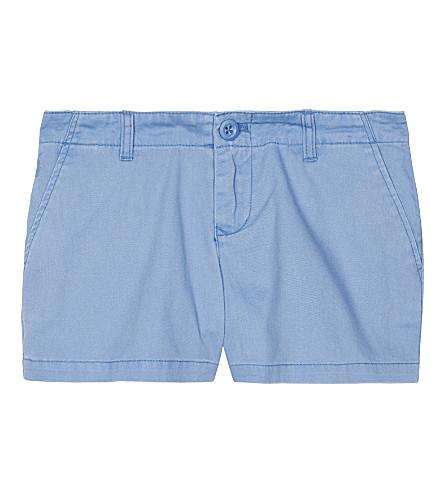 RALPH LAUREN Cotton chino shorts 7-16 years (French+blue