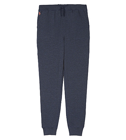 RALPH LAUREN Terry cotton jogging bottoms S-XL (Indigo+blue+hea