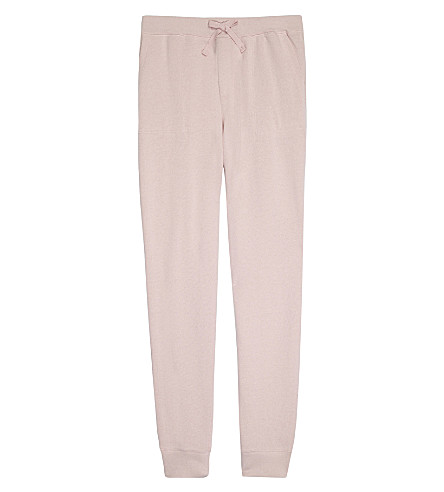 RALPH LAUREN Terry cotton tracksuit bottoms 7-14 years (Petal